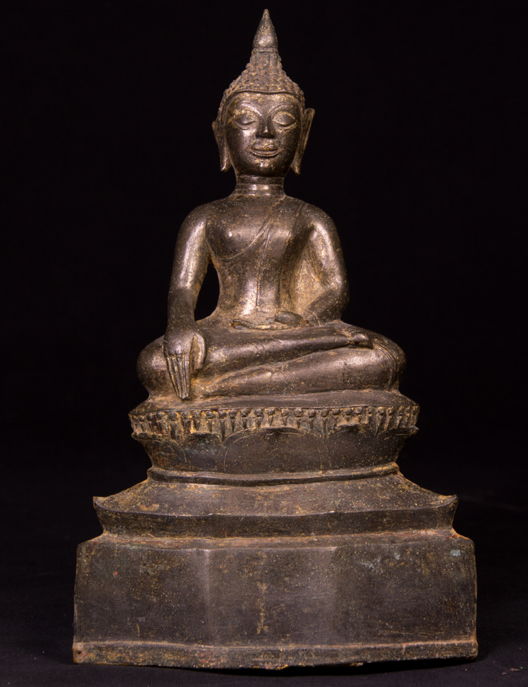 Antique Thai Buddha statue from Thailand