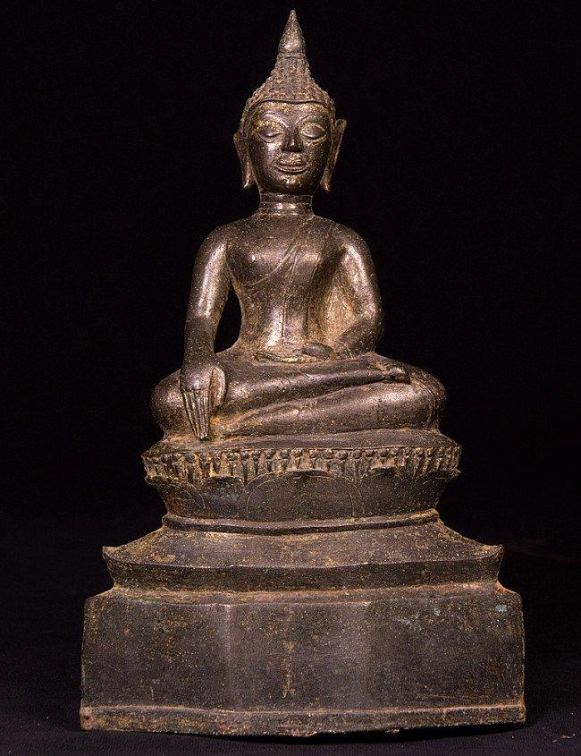 Antike Thailandische Buddha Figur