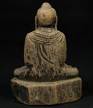 Antique Myanmar Buddha statue