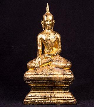 Antique Shan Buddha statue