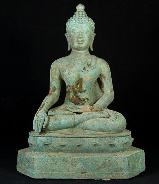 Oude Thaise Chiang Saen Boeddha