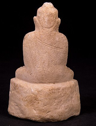 Antique marble Buddha statue