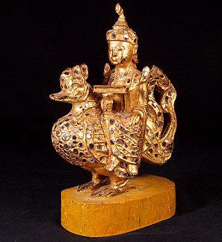 Antique Burmese Hintha Bird