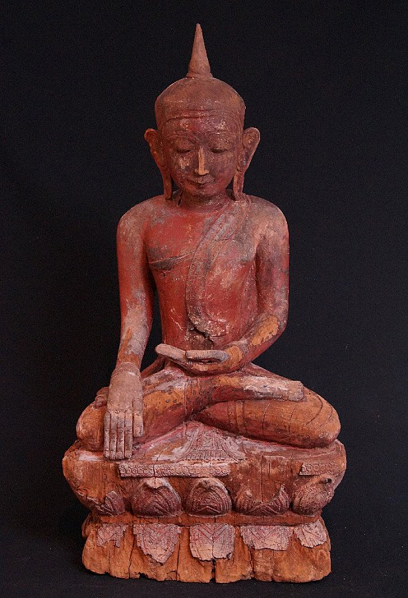 16e eeuwse Birmese Boeddha
