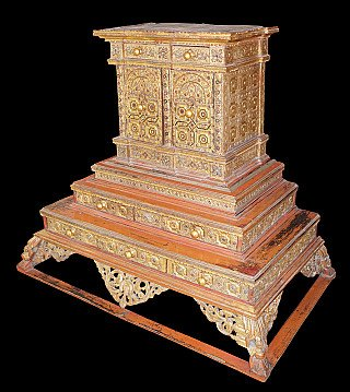 Large Burmese Temple Throne