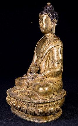 Alte Nepal Buddha Figur