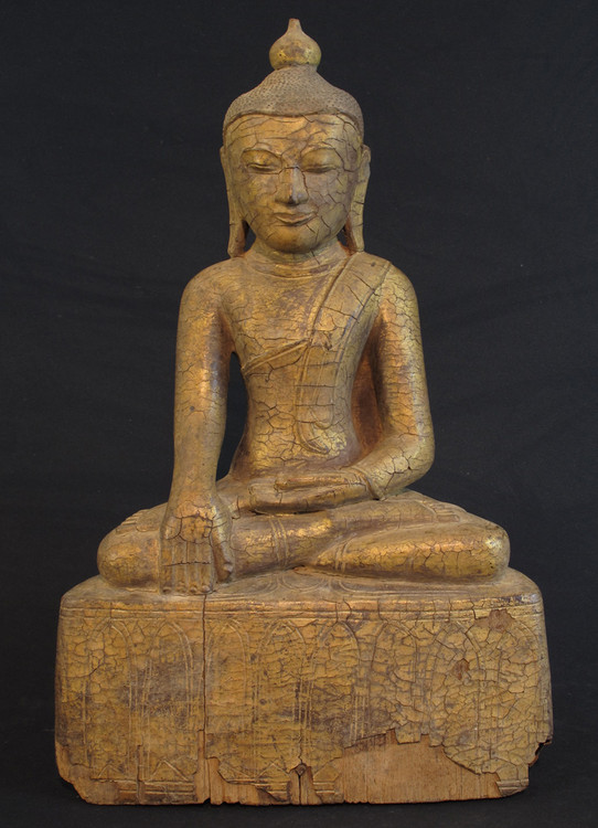 Antique Burmese Buddha from Burma
