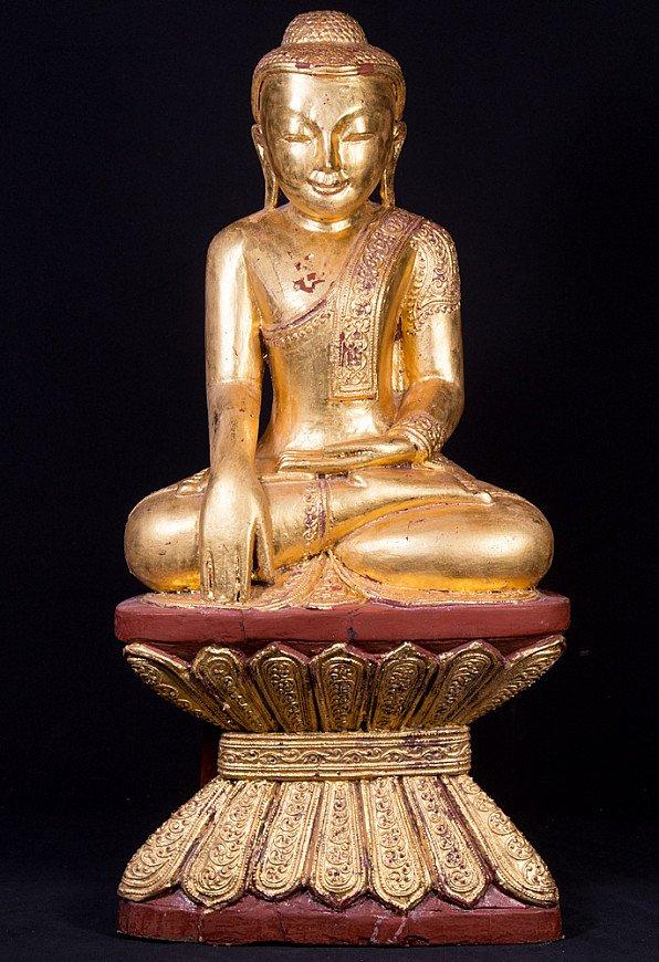 Oude Birmese Boeddha