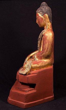 Antique Burmese Mandalay Buddha statue