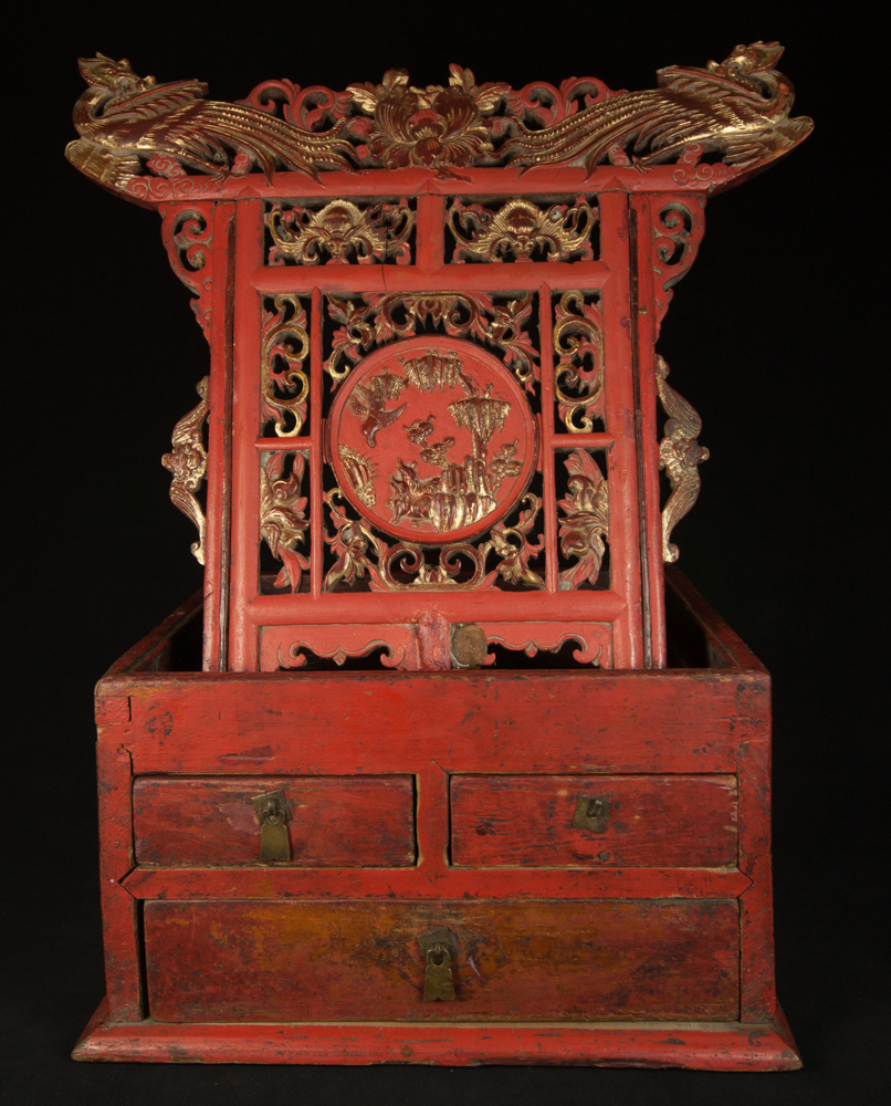 Antique chinese altar from China