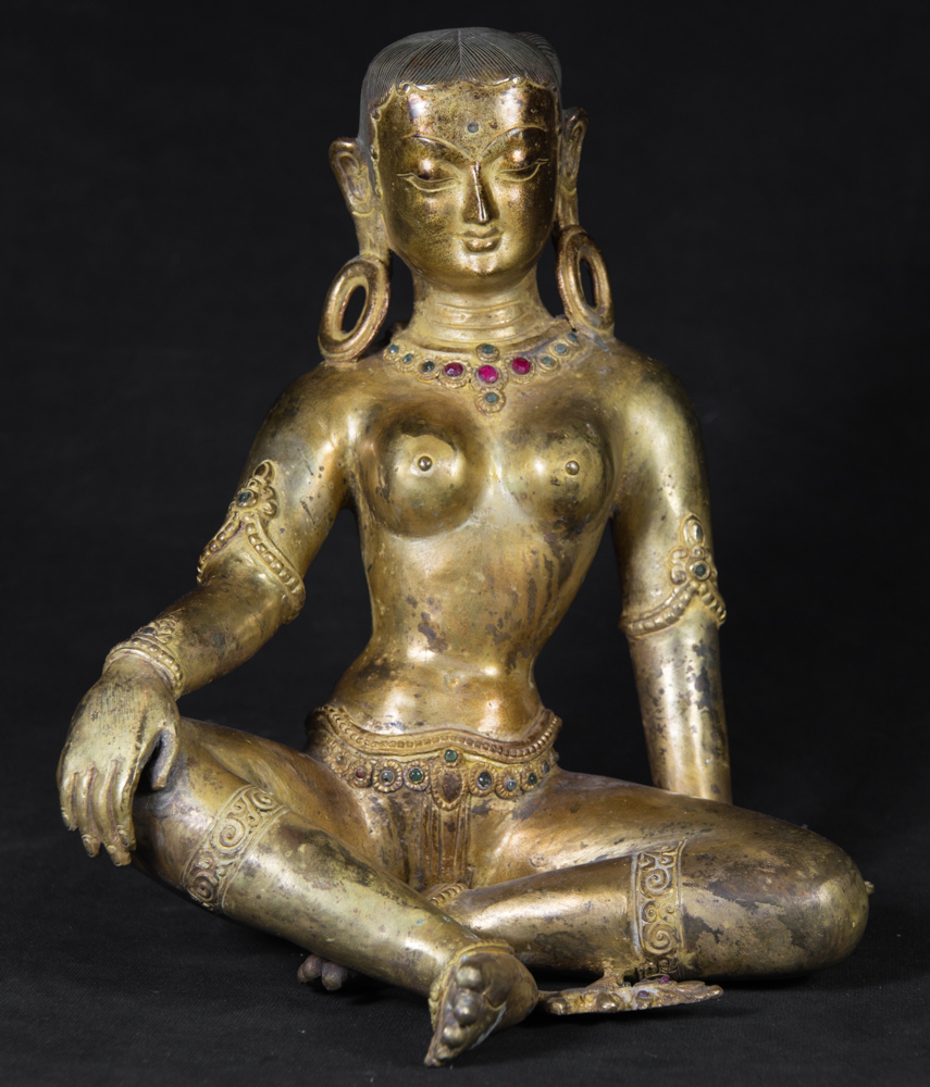 Old Nepali Parvati statue from Nepal