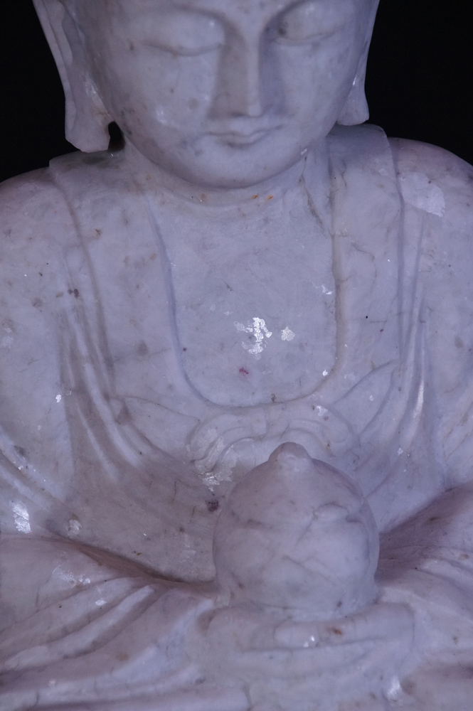 Marble Buddha statue from Burma made from Marble