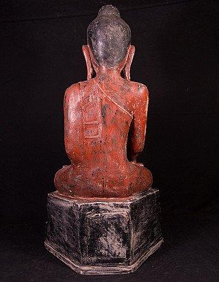 Old Burmese Buddha statue