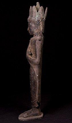 Antiek bronzen Bagan Boeddhabeeld