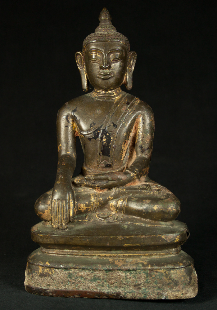 Antique Late Pagan Buddha statue from Burma