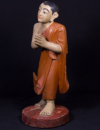 Oude Birmese monnik