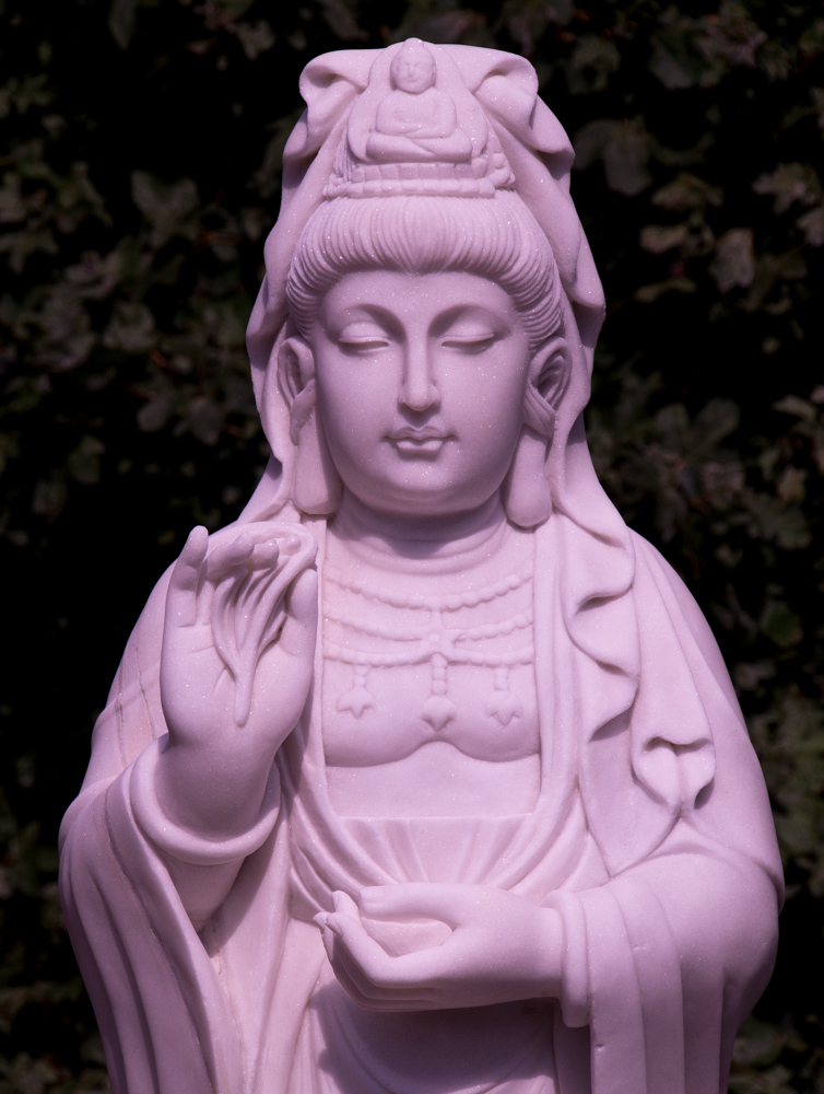 Large marble Guan Yin statue from China made from Marble