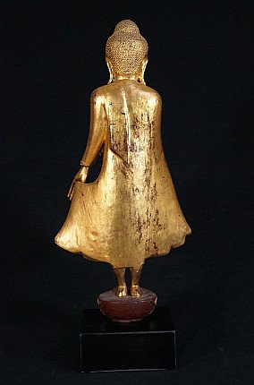 Antique standing Mandalay Buddha