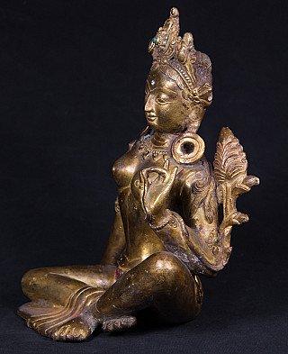 Antique Nepali Tara statue