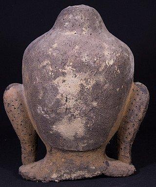 Old Burmese Buddha head