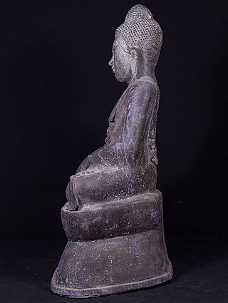 Alte bronze Shan Buddha Figur