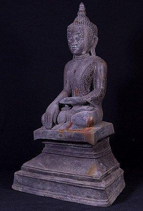 Old bronze Shan Buddha statue