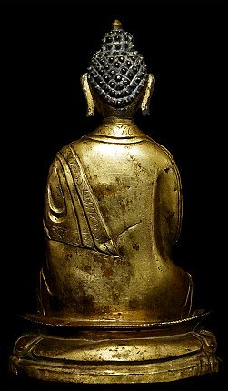 Antique Tibetan Buddha statue