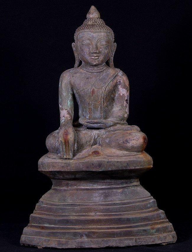 Antieke bronzen Boeddha