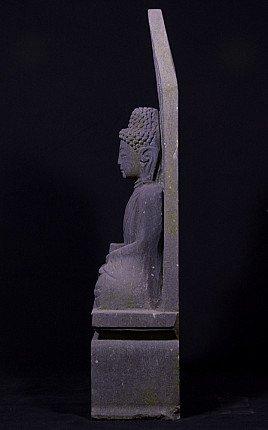 Granite stone Buddha statue