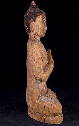 Alte Birmanische Pagan Buddha Figur