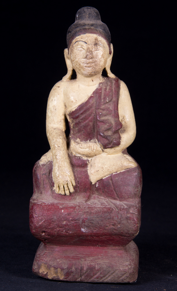 Small antique Buddha statue from Burma