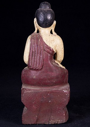 Small antique Buddha statue
