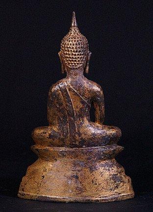 Antique Ayuthaya Buddha statue