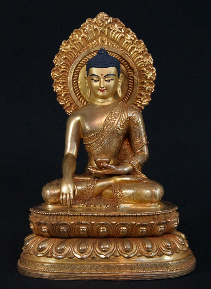 Old Japanese Buddha from Nepal