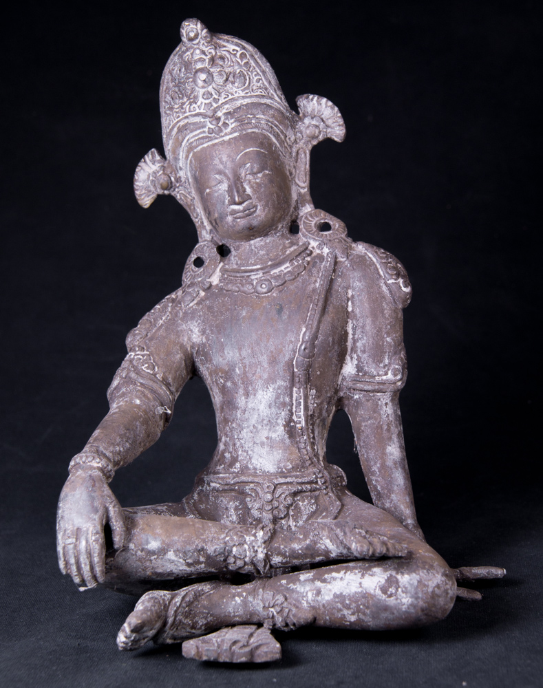 Old Nepali Indra statue from Nepal