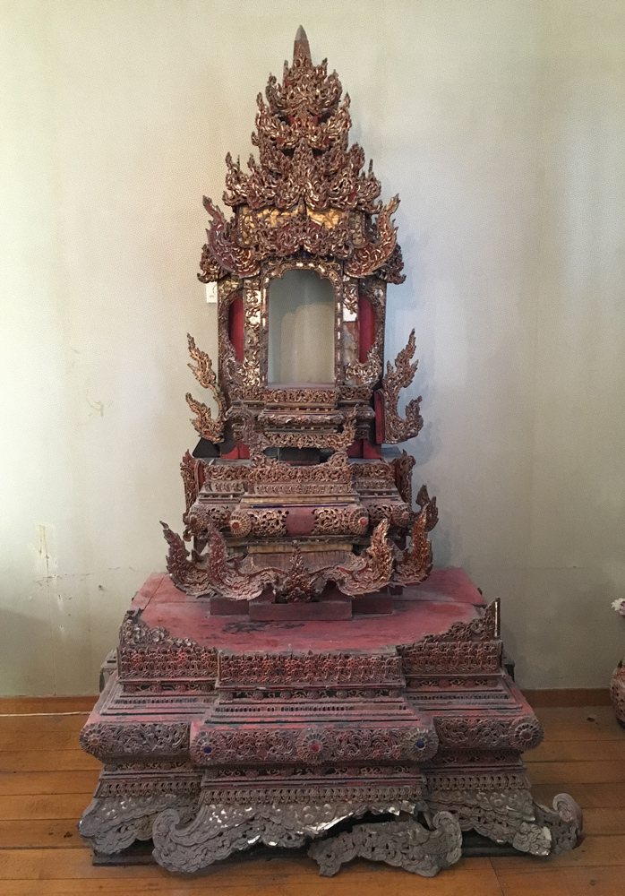 Large Shan Throne from Burma