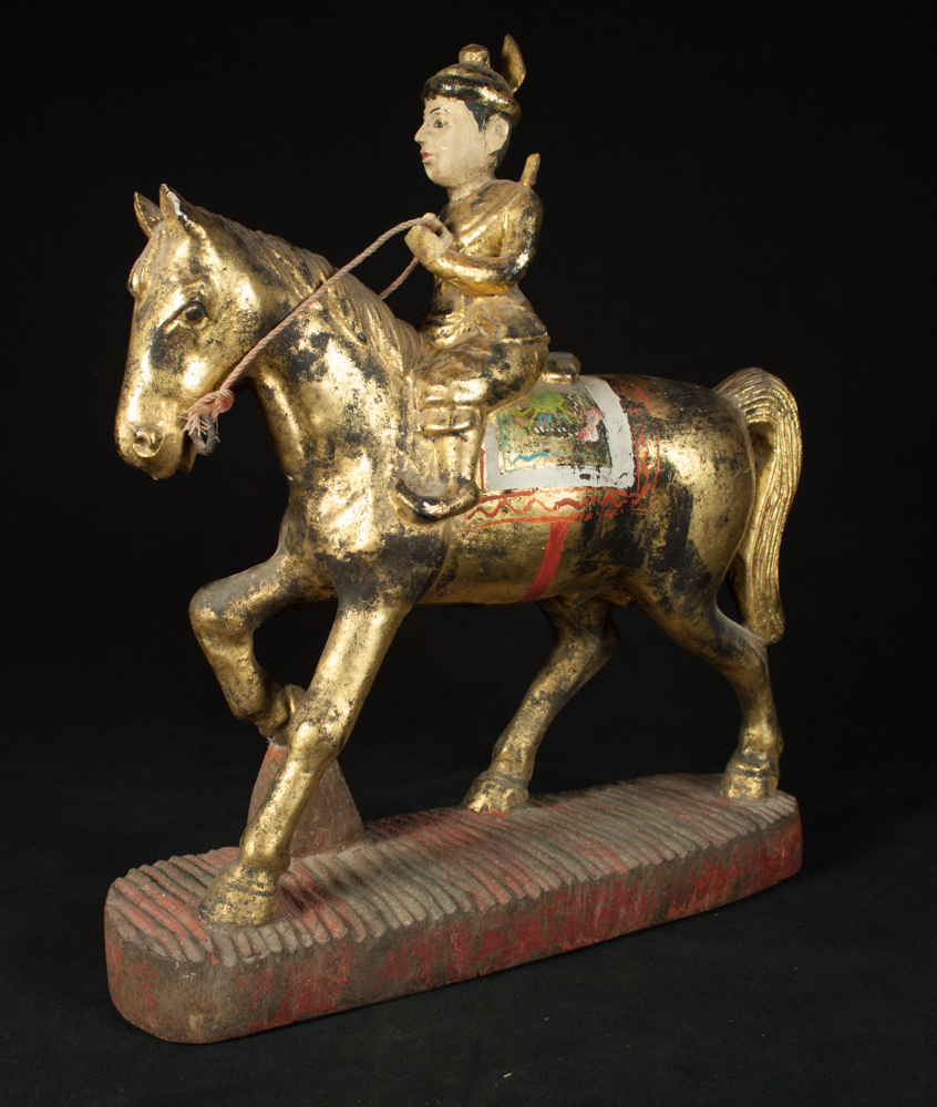 Antique Burmese Nat statue from Burma