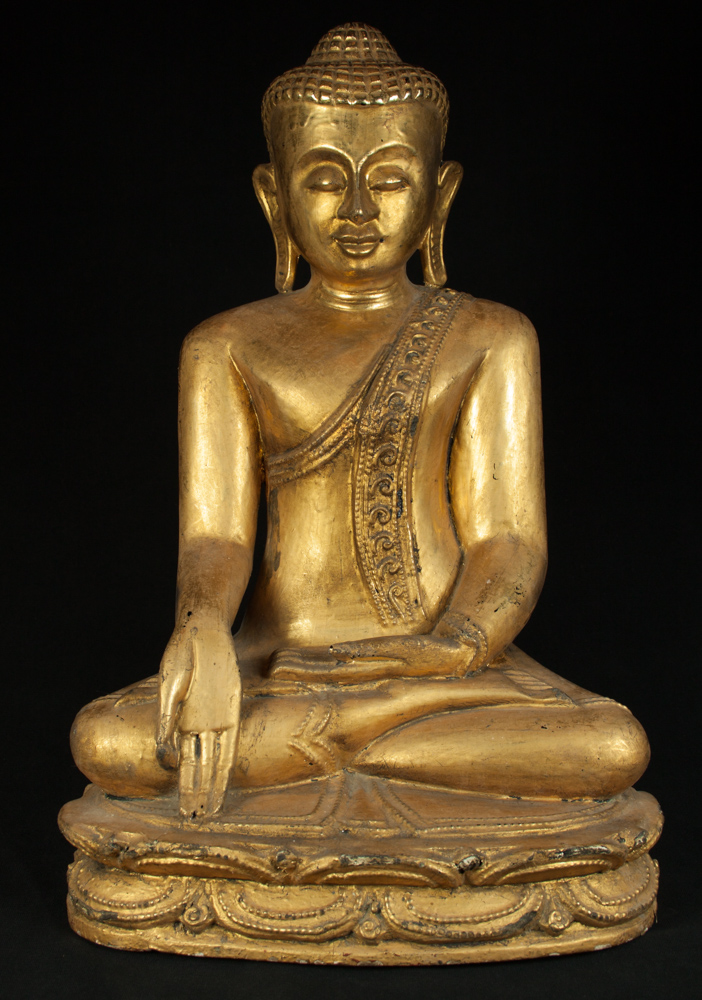 Old Burmese Buddha statue from Burma