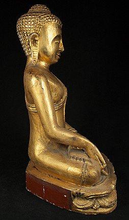 Alte Birmanische Buddha Figur