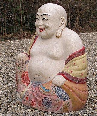 Old Happy Buddha - Laughing Buddha