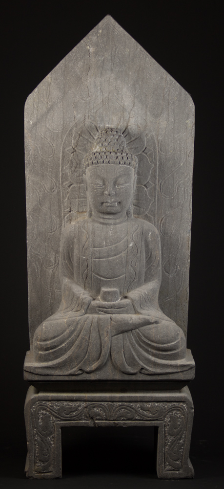 Granite stone Buddha statue from China made from Granite stone