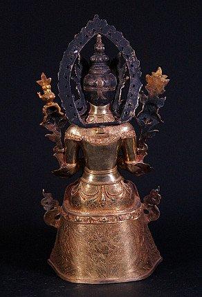 High quality Nepali Maitreya Buddha statue