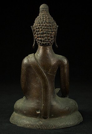 Antique bronze Chieng Sean Buddha statue