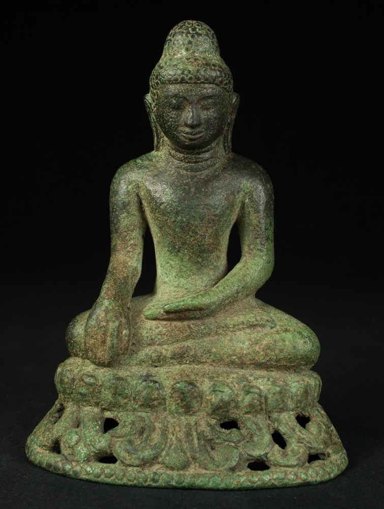 Very early Burmese Arakan Buddha statue from Burma