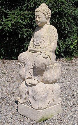 New Limestone Buddha
