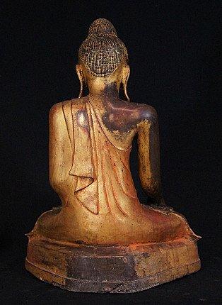 Antique bronze Mandalay Buddha