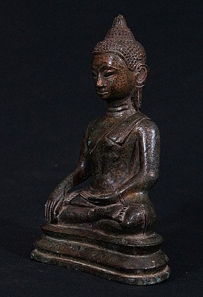 15 eeuwse Thaise Utong-C Boeddha