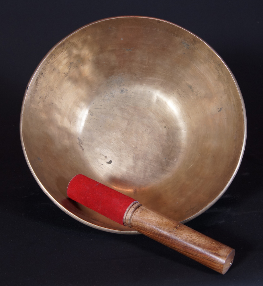 Old Nepali Singing Bowl from Nepal made from