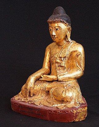 Antique Burmese Mandalay Buddha