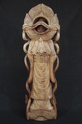 Old Guan Yin figure